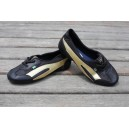 Ballet shoes Black and Gold