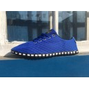 "Baskets TAYGRA ""CORRIDA"" Bleu Royal"