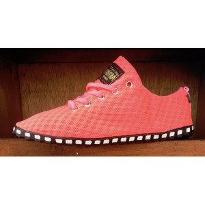"Baskets TAYGRA ""CORRIDA"" Rose Fluo"