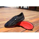 """Dança"" sneaker edition Brighting Black with Red Outsole"