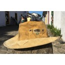 Cowboy hat from recicled truck´s cover canvas