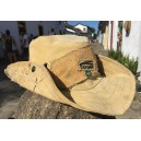 Australian hat from recicled truck´s cover canvas
