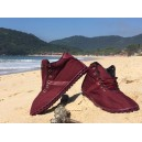 CORRIDALTA Burgundy High-top